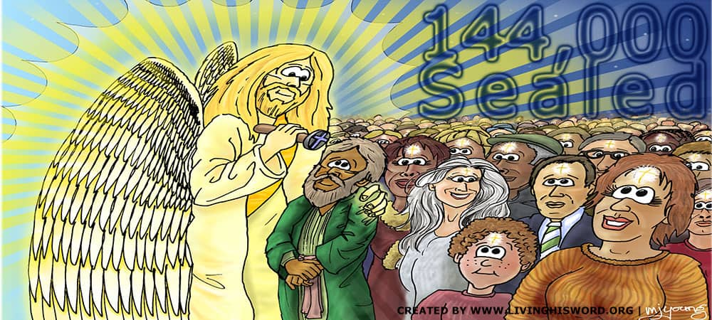 Sealed Of The 144,000 From Every Tribe Of Israel