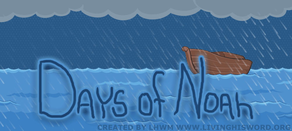 As In The Days Of Noah