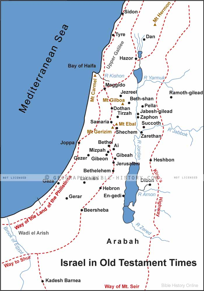 Israel-During-the-Old-Testament