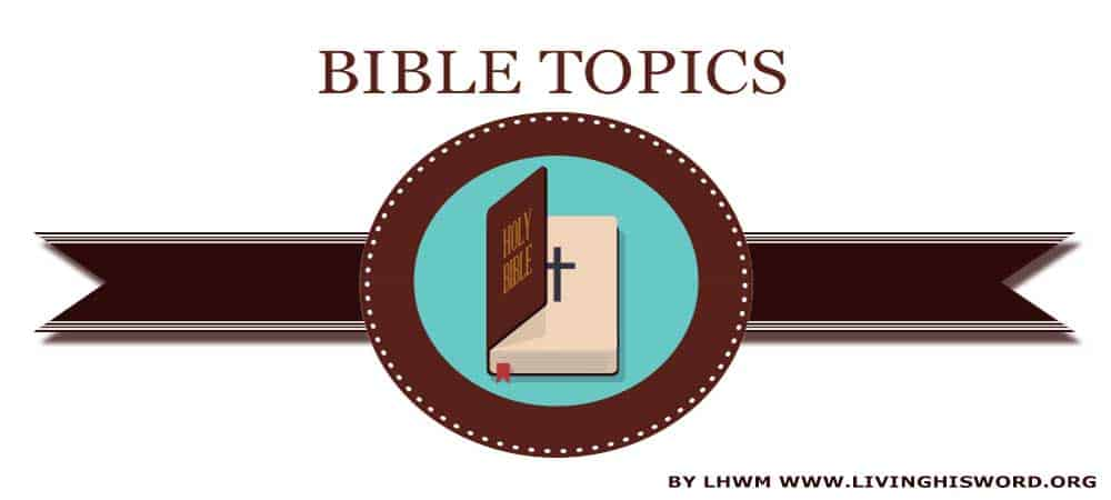 Bible Topics, Dive Deep Into God's Word