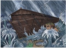 days of noah flood