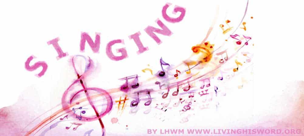 Singing During Times Of Distress