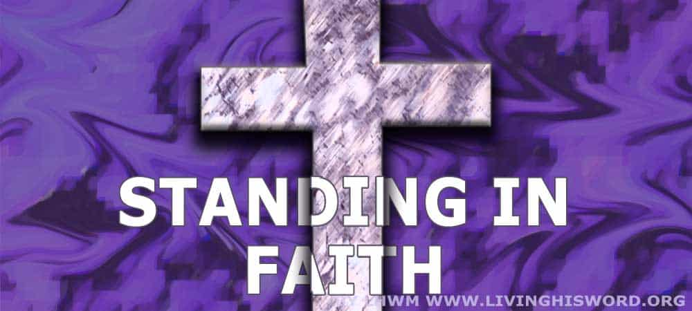 standing in faith