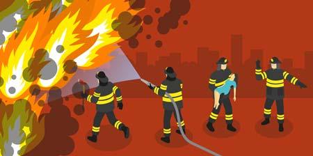fire buildings