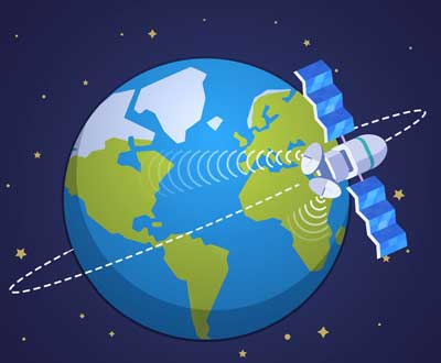 earth satellite space