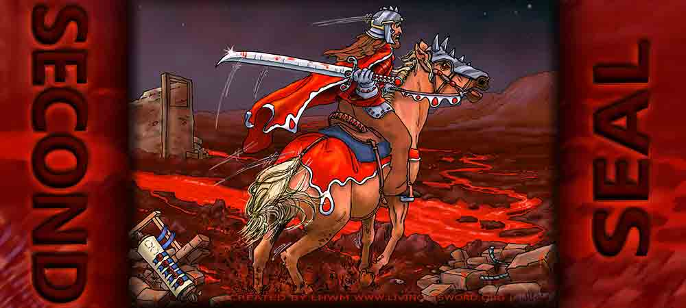 second seal horse that was red revelation