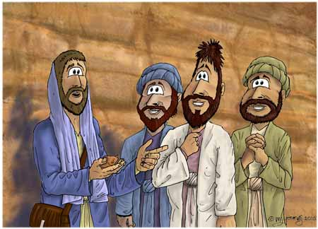 Jesus-talks-disciples