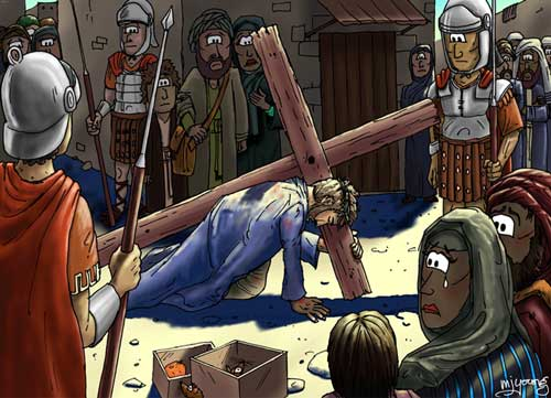 christ-carrying-his-cross-salvation